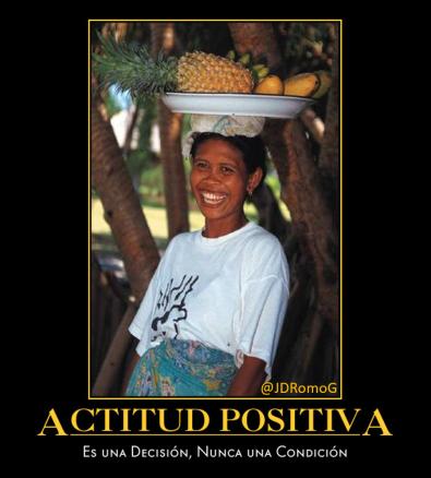 Actitud Positiva